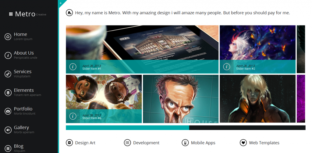 Wetro WordPress Theme