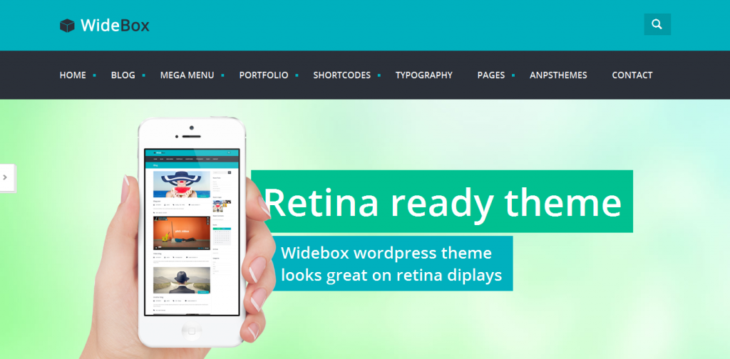 Windows WordPress Theme