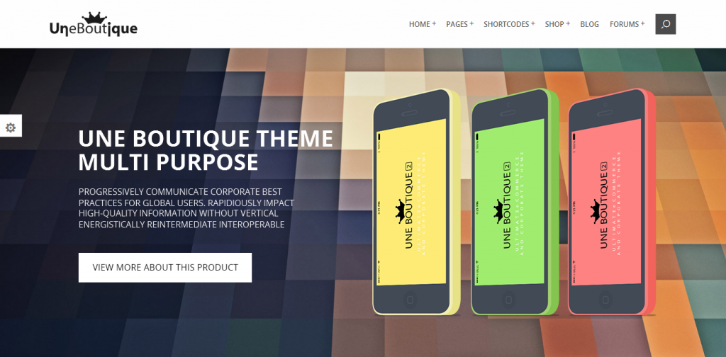 eCommerce Corporate Theme