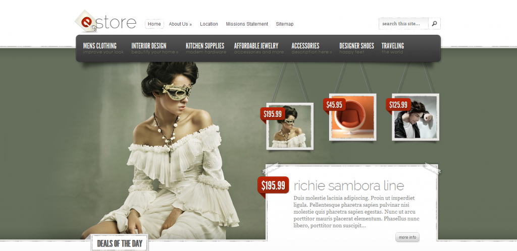 eCommerce WordPress Templates