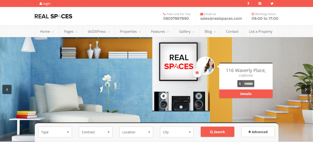 Best Real Estate WordPress Templates