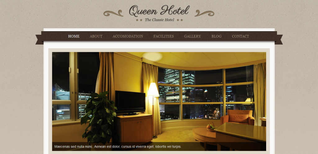 Book Hotel WordPress Theme