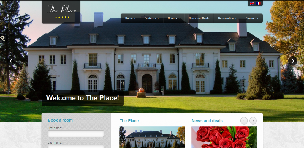 Booking Hotel WordPress Theme