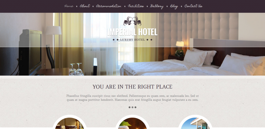 Buy Hotel WordPress Theme