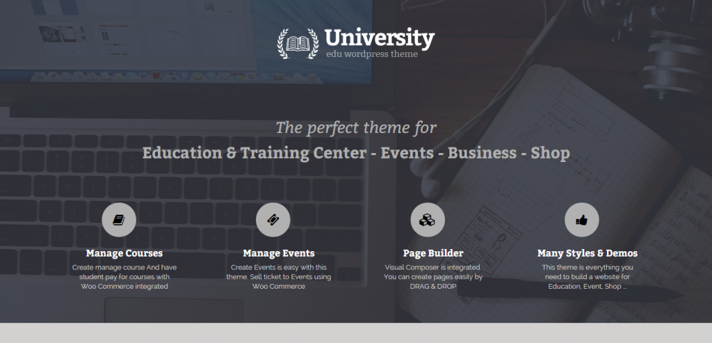 Downlaod University Education WordPress Themes