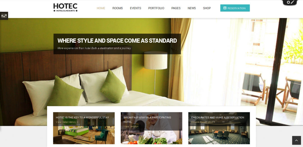 Download Hotel WordPress Theme