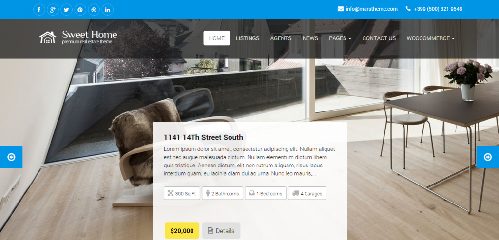 Download Real Estate WordPress Templates