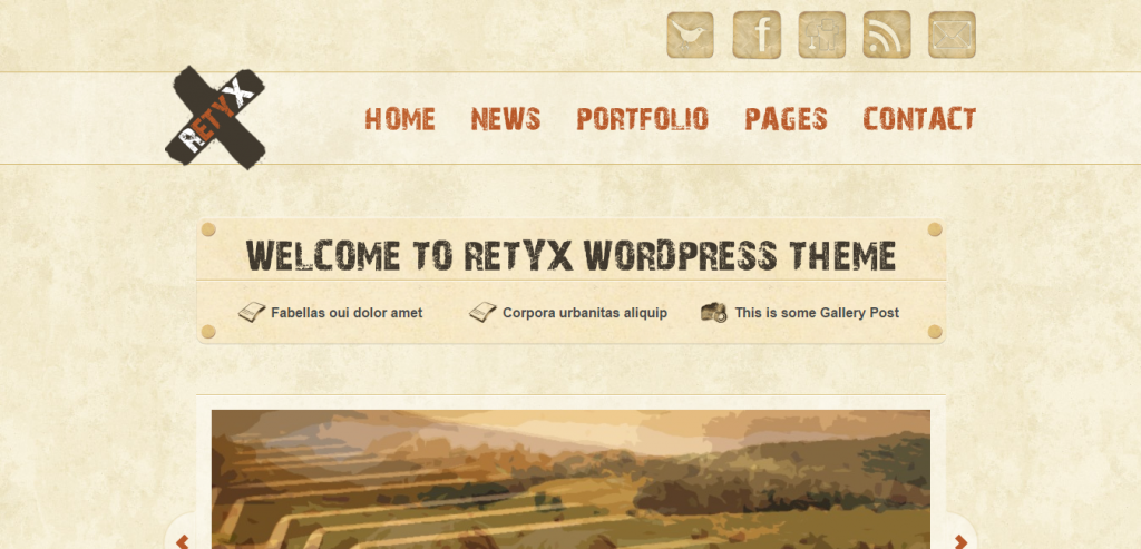 Download Retro Vintage WordPress Themes