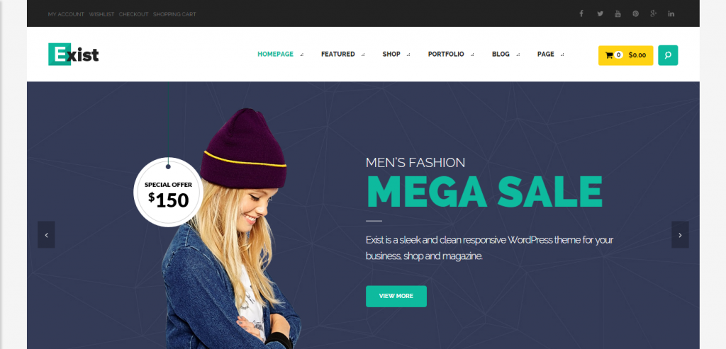 Download WordPress Commerce Themes