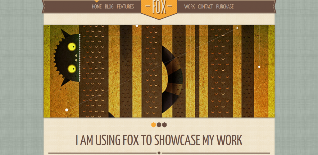 Fox WordPress Theme