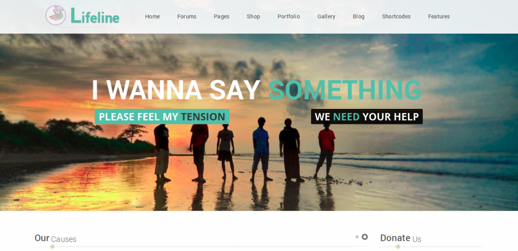 Fund Raising WordPress Theme