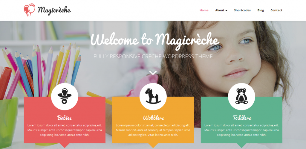 Kinder Garden WordPress Themes