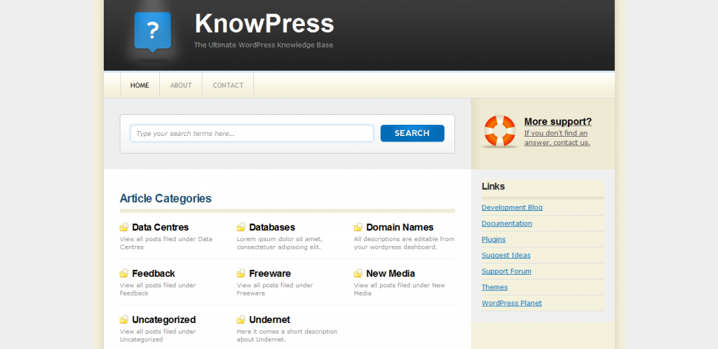 KnowPress Knowledge Base