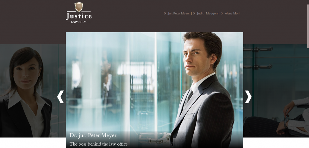 Law WordPress Template