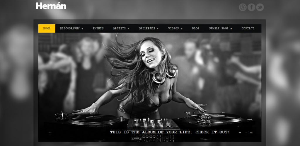 Music Theme for WordPress