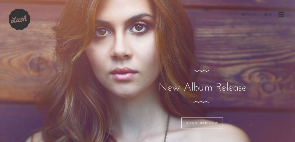 Musician WordPress Theme