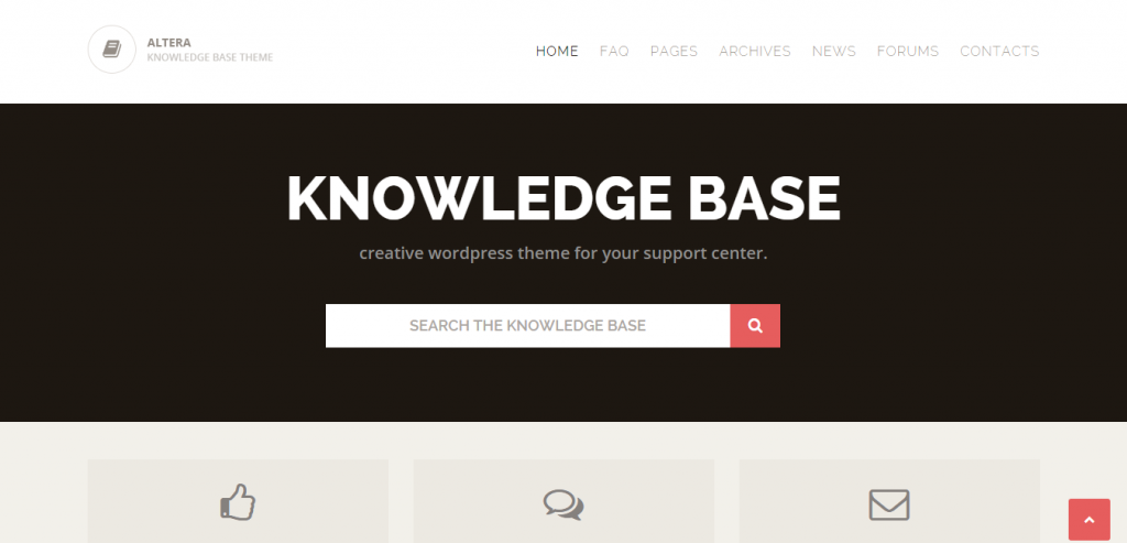 New Knowledge Base WordPress Templates