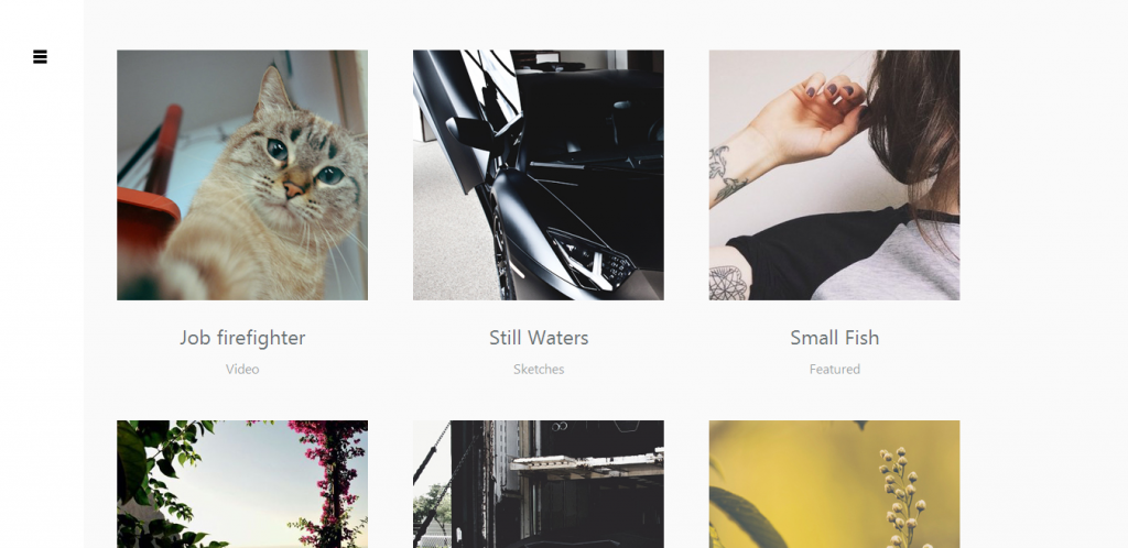 Portfolio Blog WordPress Theme