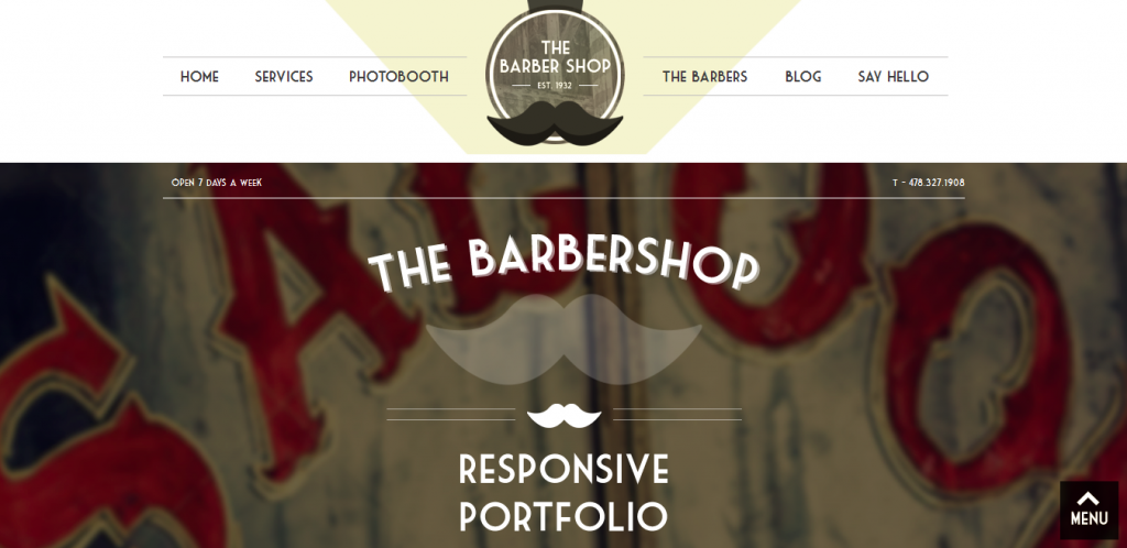 Portfolio Retro WordPress Theme