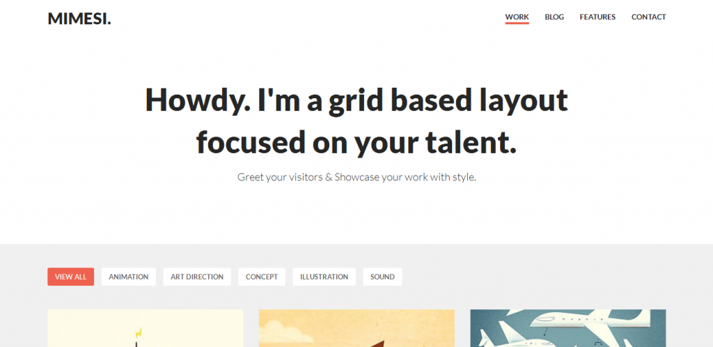 Portfolio Theme for WordPress