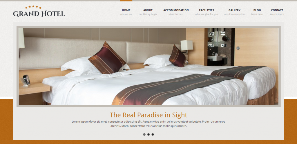 Resorts Business WordPress Theme
