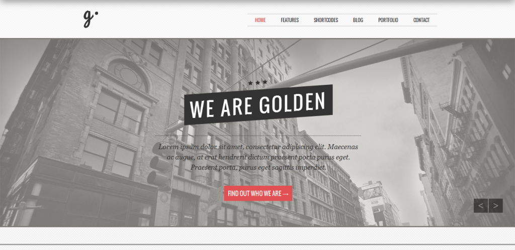 Responsive Vintage WordPress Theme