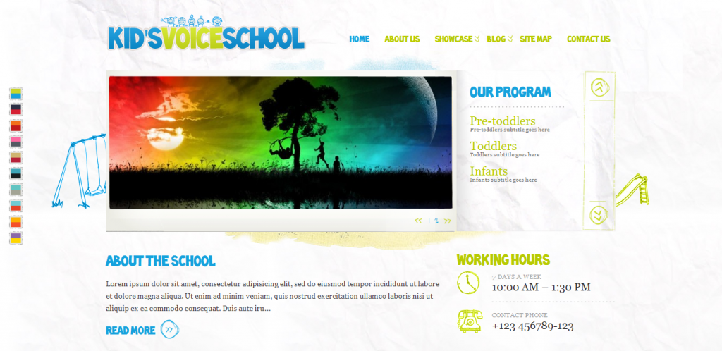 School Responsive WordPress Theme