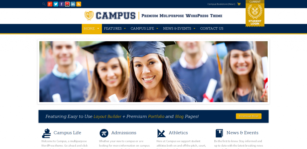 University WordPress Themes