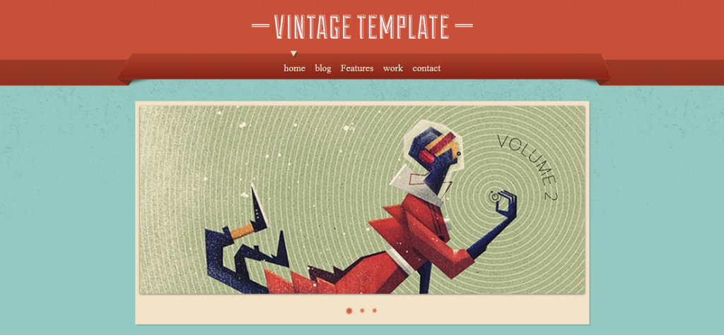 Vintage WordPress Templates