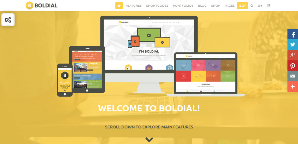 WordPress 3D Portfolio