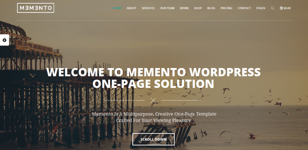 WordPress Theme With WooCommerce