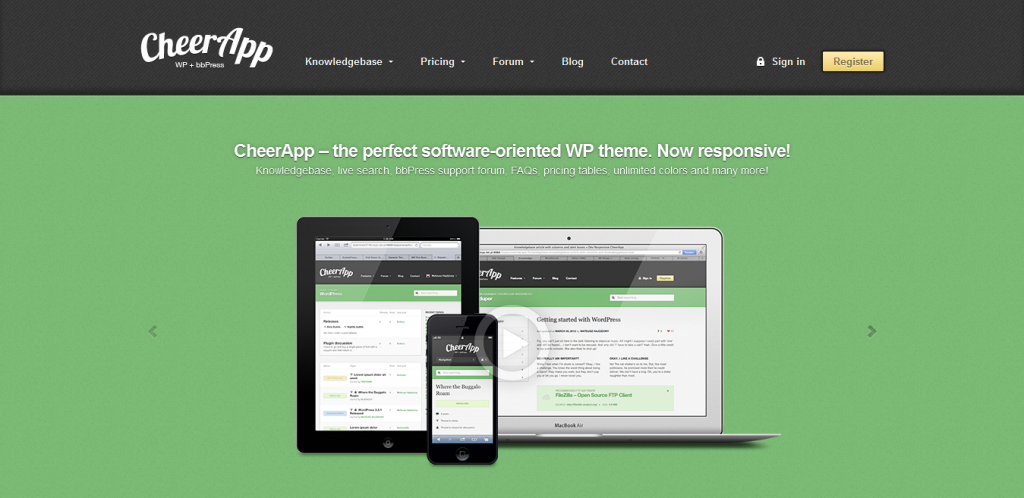 bbPress WordPress Theme