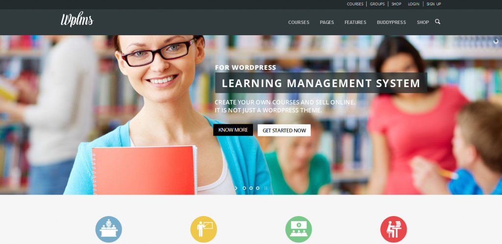 eLearning WordPress Theme