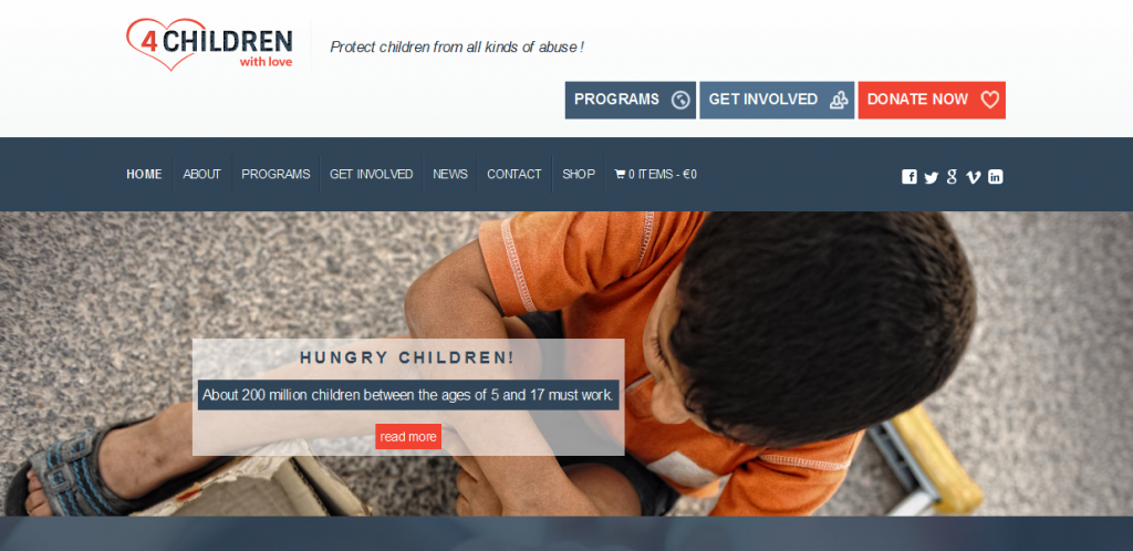 Best Charity WordPress Theme