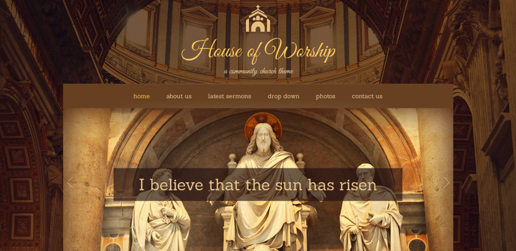 Religion WordPress Theme