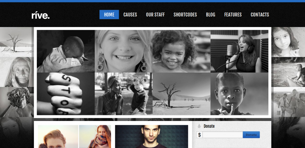 Responsive Charity WordPress Theme