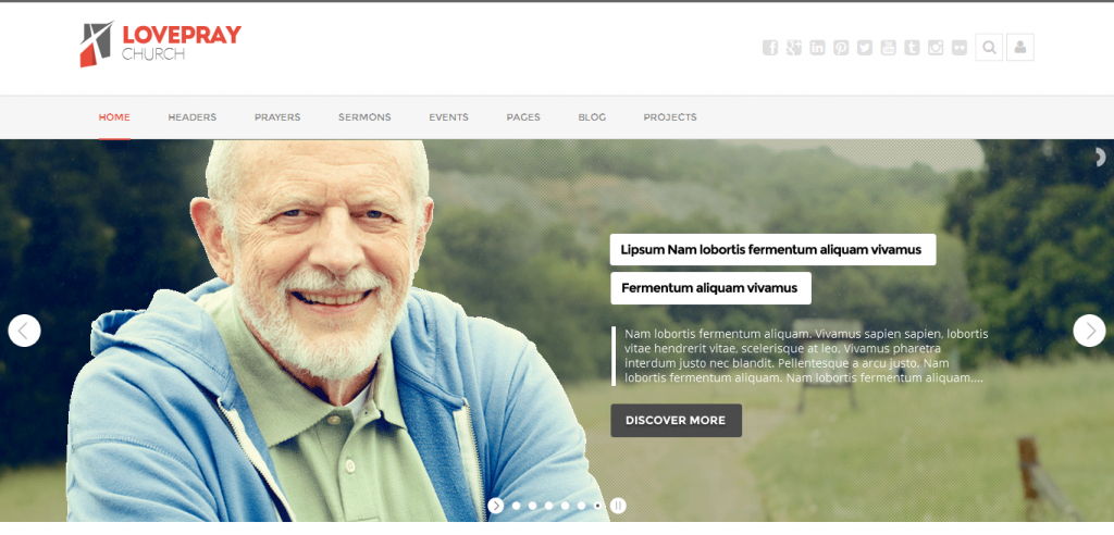 sermons wordpress theme