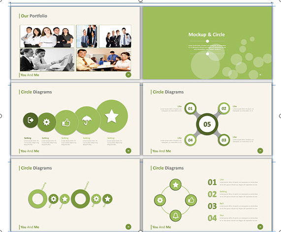 3 in 1 Bundle Powerpoint Templates