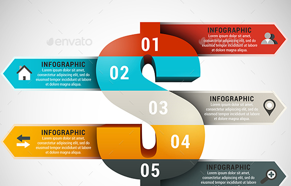 4 in 1 Infographics Bundle