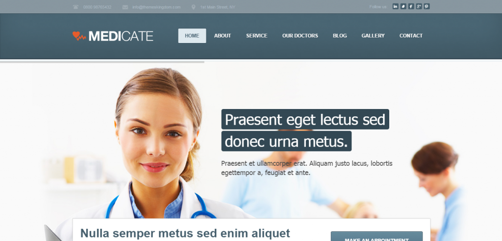 Best Health and Medical WordPress Theme