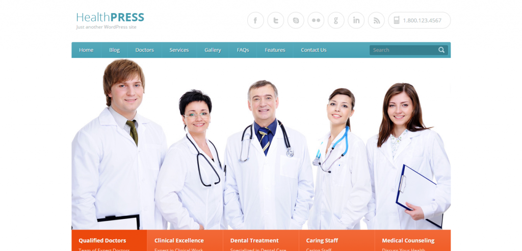 Best Medical and Health WordPress Theme