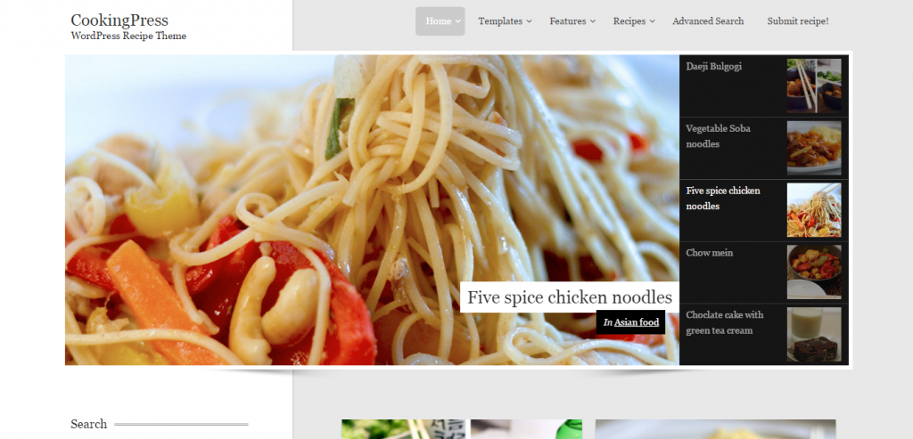 Best Recipe and Food WordPress Themes