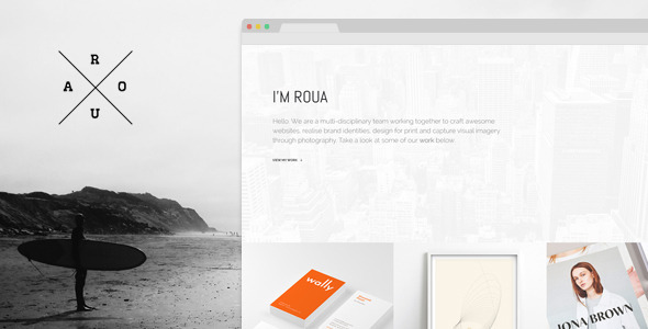 Blogging WP Theme
