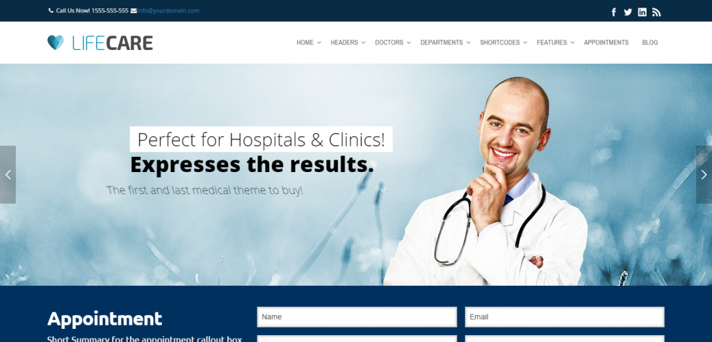 Buy Health and Medical WordPress Theme