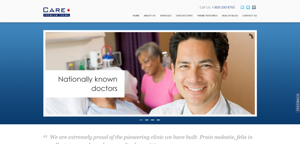 Buy Medical and Health WordPress Themes