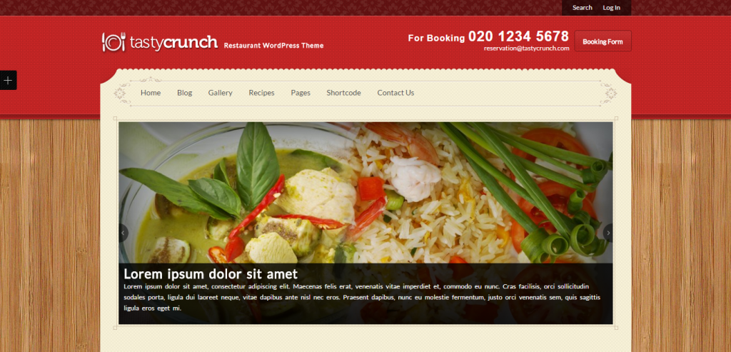 Buy Recipe and Food WordPress Themes