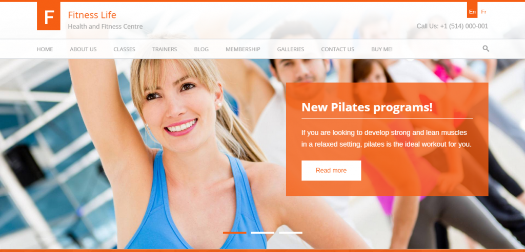 Buy Sport and Fitness WordPress Themes