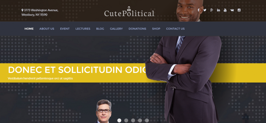 CuteChurch WP Theme