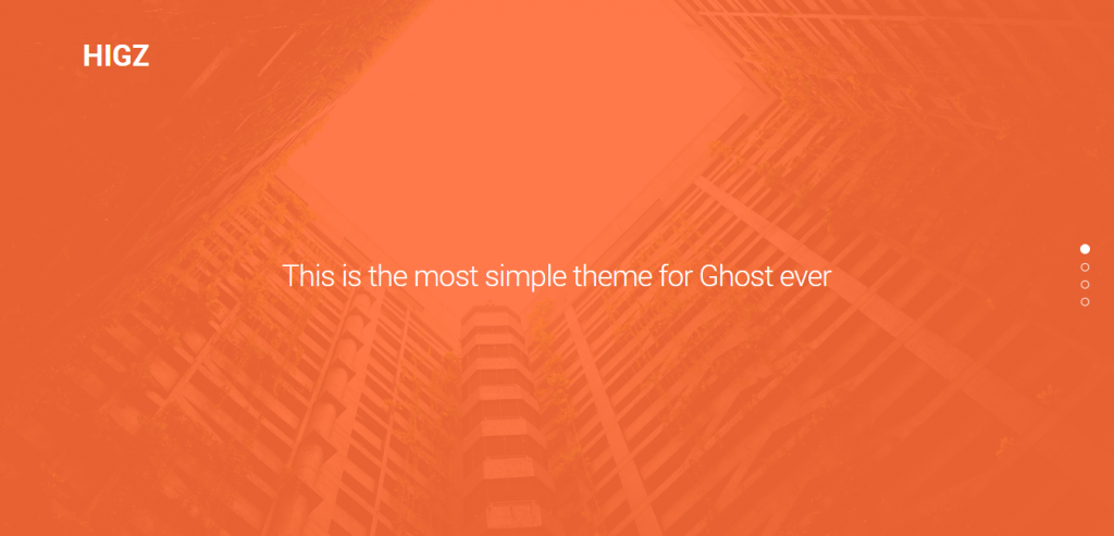 Download Ghost Theme
