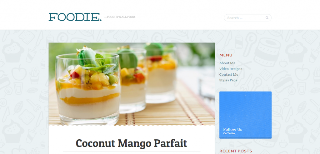 Download Recipe and Food WordPress Themes